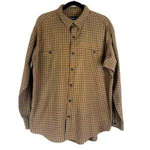 Patagonia Organic Cotton Plaid Shirt Brown